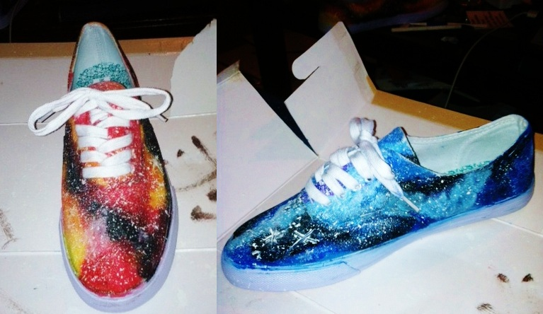 How to make galaxy shoes (with pictures) All you ever need to know