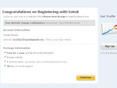 Cara Mendapatkan Domain TLD Gratis Dari Intuit