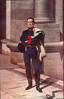 'Artigas en la Ciudadela', óleo sobre tela (1884) del maestro montevideano don Juan Manuel Blanes (1830-1901), tomado de wikipedia