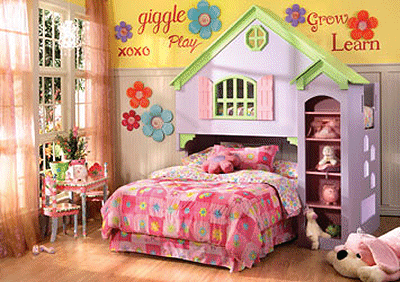 Girl Bedroom Themes - Home Design
