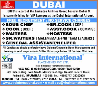 Emirates Job Vacancies In Dubai Jobhunferfb