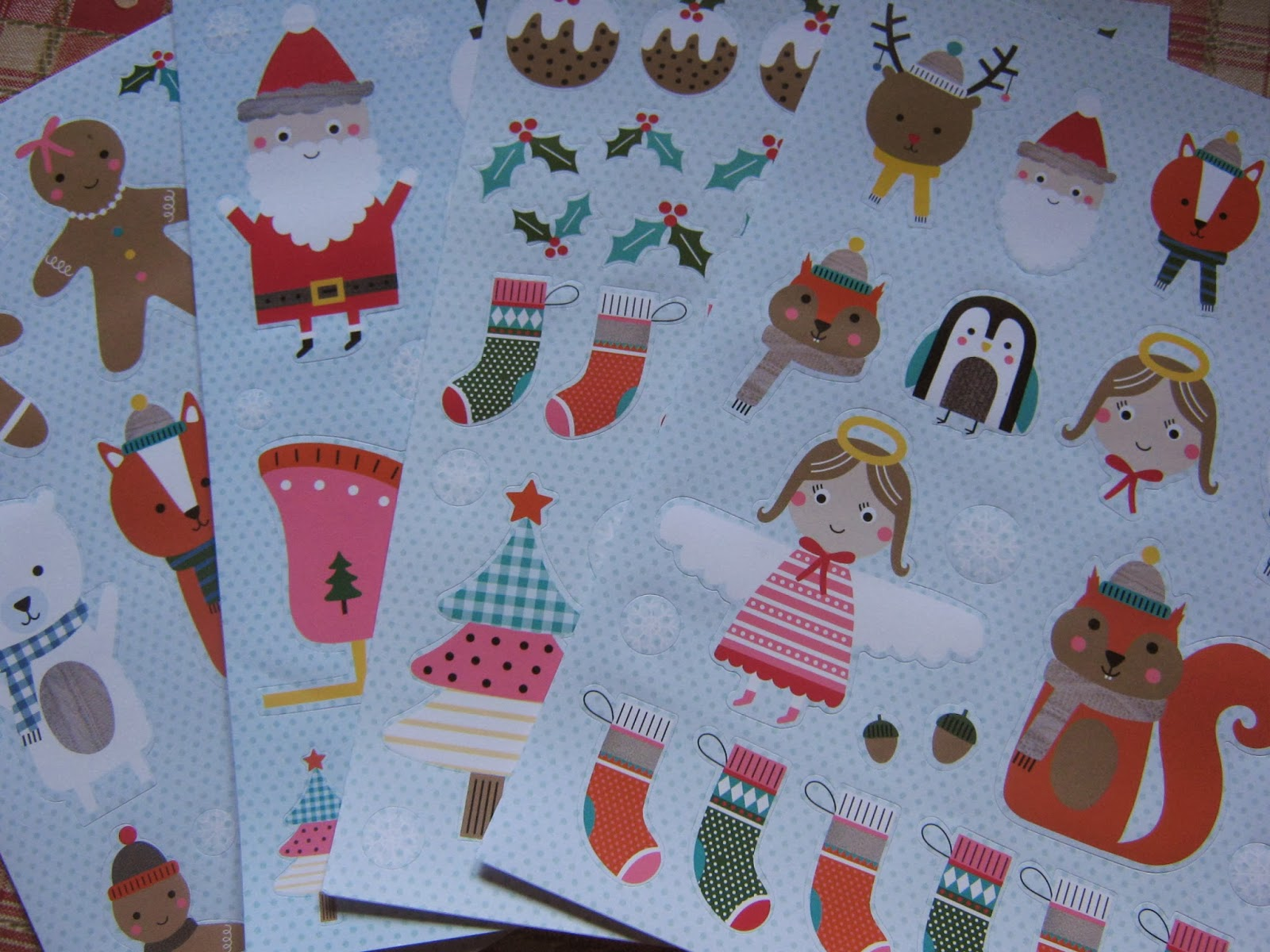 Wilkos Christmas Stickers