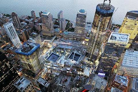 onstruction continues on One World Trade Center