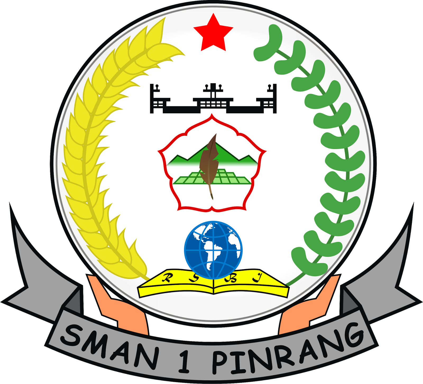 Ira S Blog Arti Logo Sma Negeri 1 Pinrang