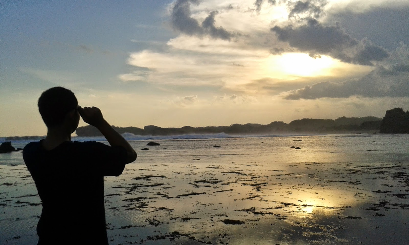 Sunset Pantai Sundak Gunung Kidul