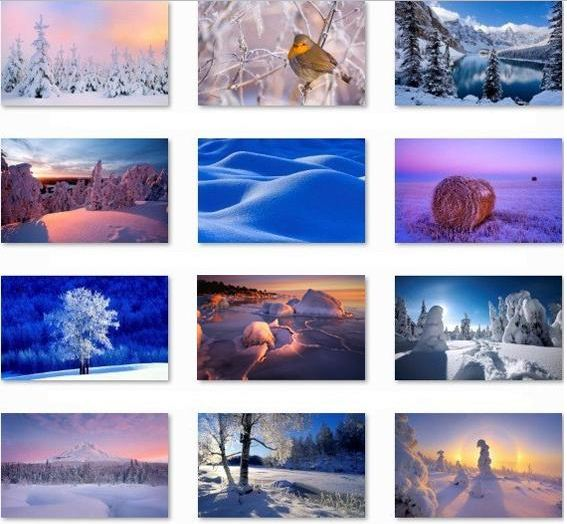 Download Winter Theme Pack for Windows 8
