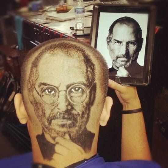صورة للمشاهير على الرأس