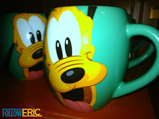 Pluto souvenir coffee mug found in Disneyland California