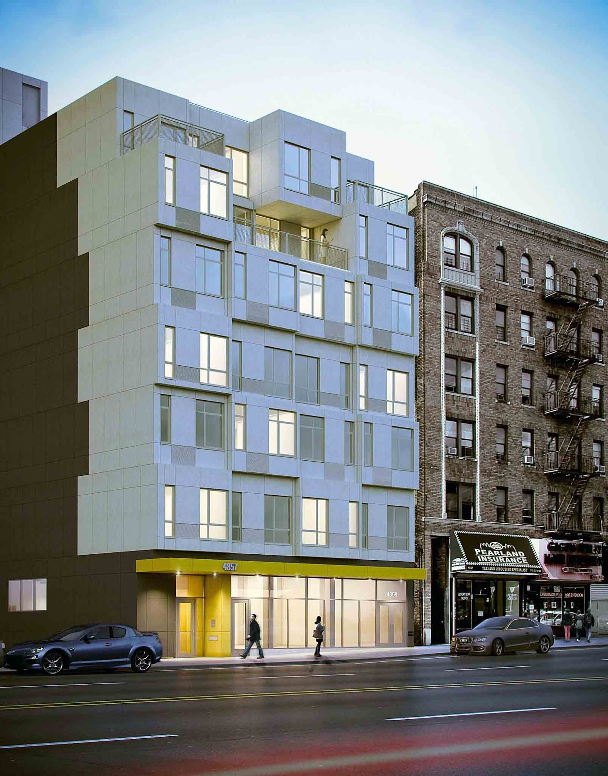 Times square gossip new york city 39 s first modular apartments for New york apartment real estate