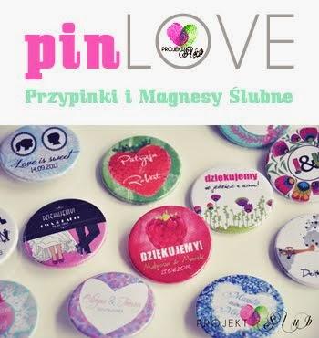 pinLOVE - przypinki i magnesy ślubne od Projekt Ślub