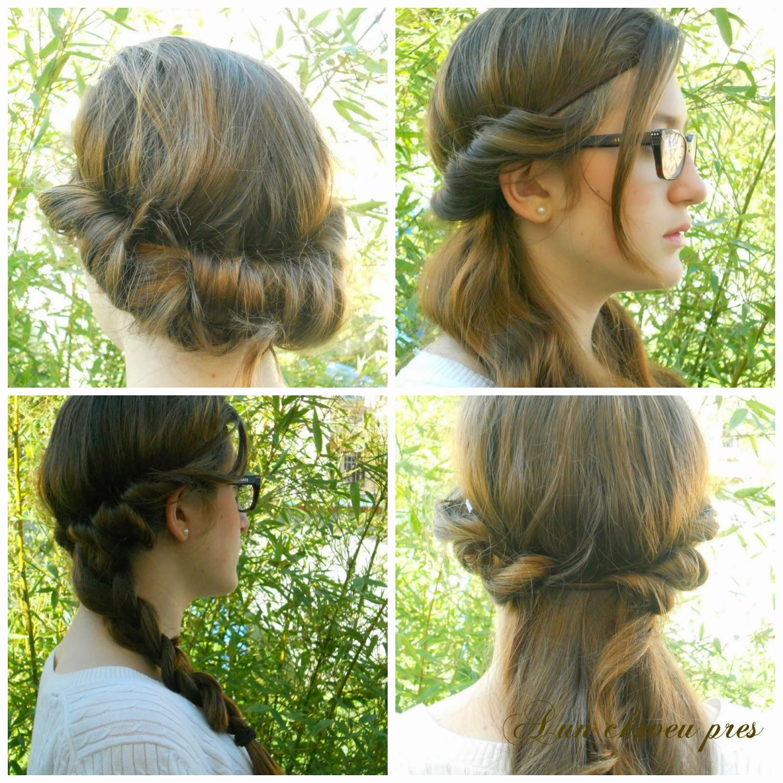 A un cheveu pr s 4 coiffures avec un head band - Coiffure headband cheveux courts ...