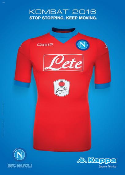 camisetas de futbol Napoli baratos