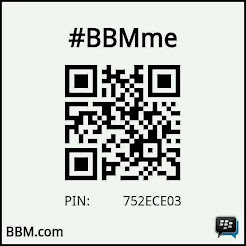 Connect with me use BBM