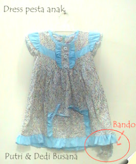 _dress pesta anak terbaru