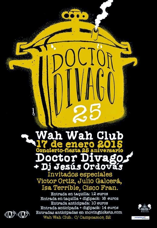 Gira 25 aniversario de DOCTOR DIVAGO