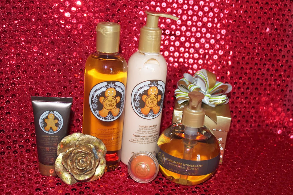 The Body Shop - Ginger Sparkles collection