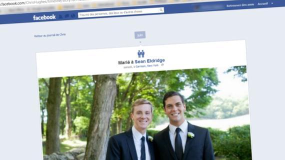Facebook légalise le mariage homo