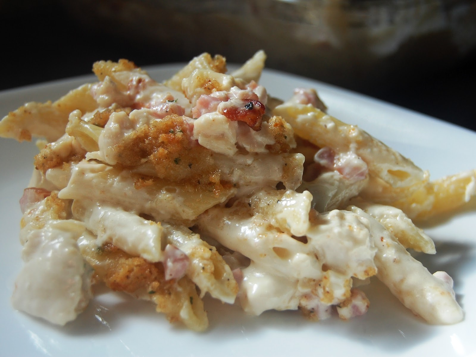 Cassie Craves: Chicken Cordon Bleu Pasta