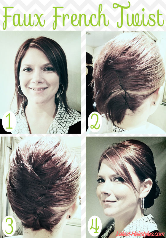 Hairstyles For Short Hair Step By Step : Hair and Make-up by Steph: Styling Ideas for Short Hair