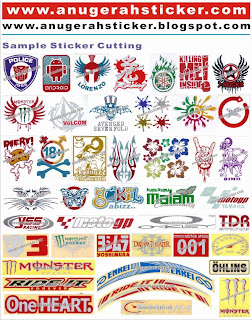 Gambar Sticker Motor