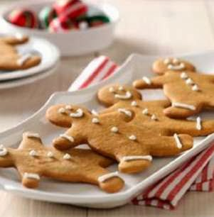 Gingerbread People Recipe Dessert