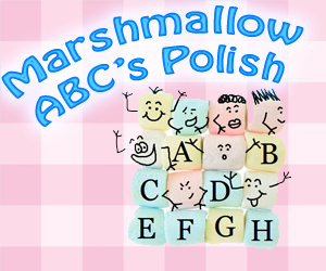 Marshmallow ABC's Nail Polish