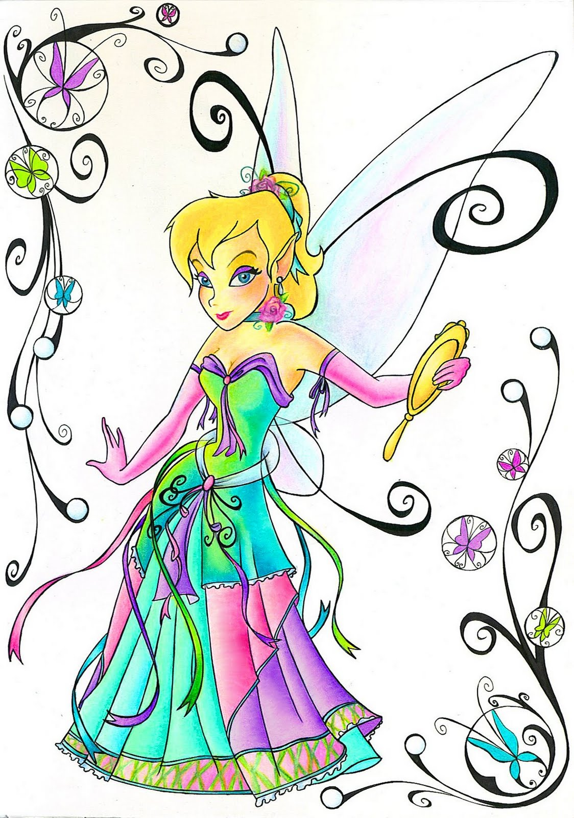 Tinker Bell Clip Art