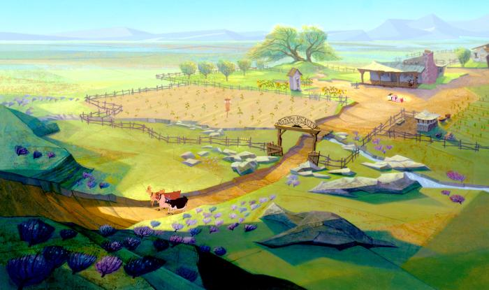 Pearl's farm Home on the Range 2004 animatedfilmreviews.blogspot.com