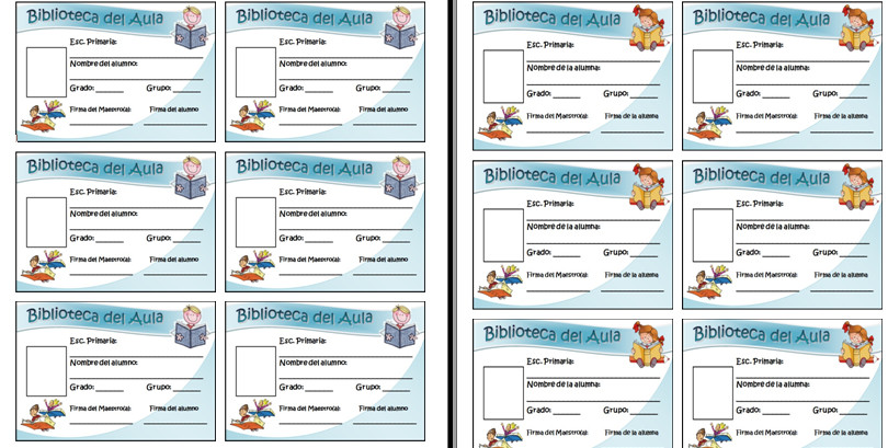 formatos de credenciales en word