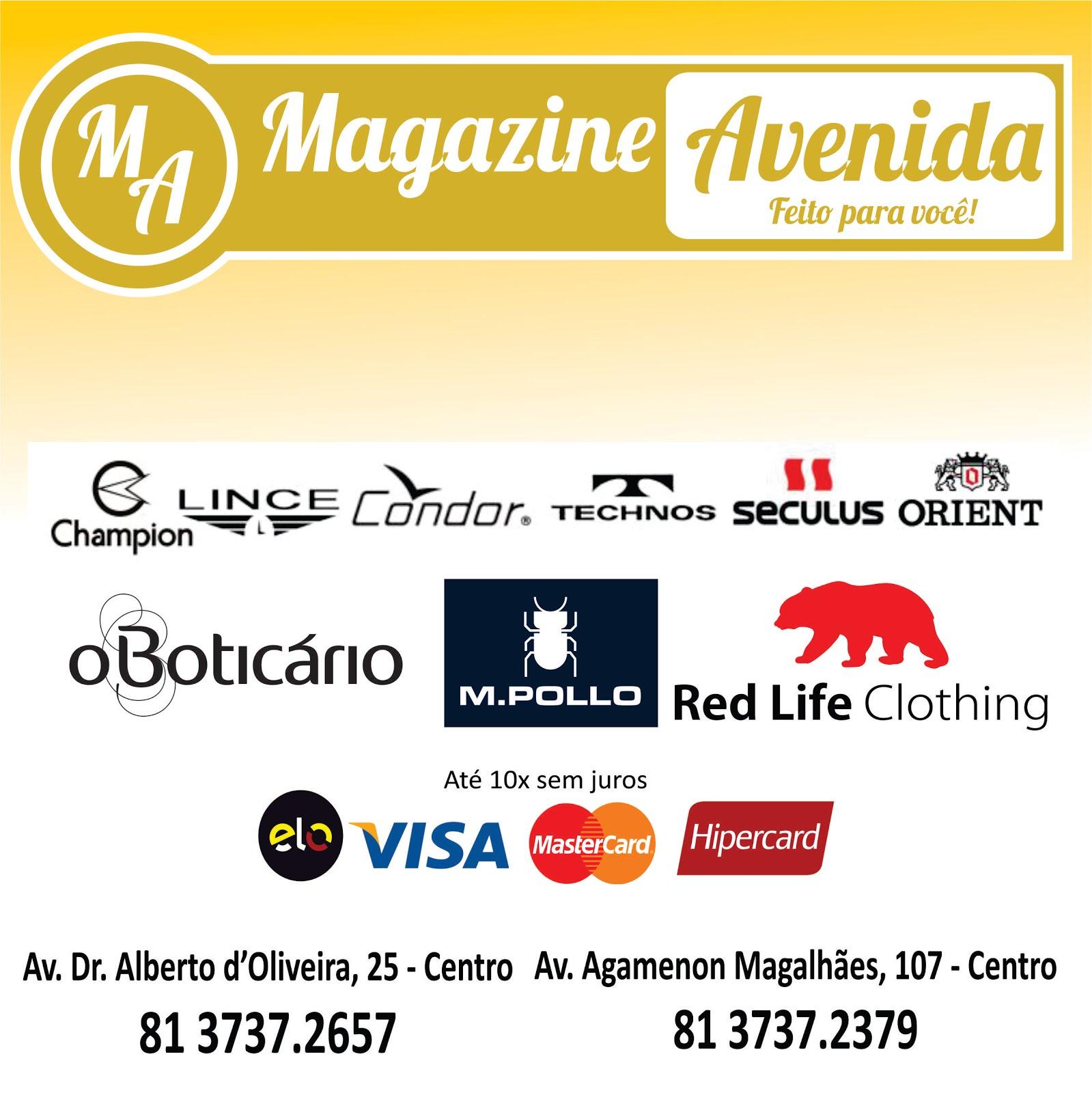 Magazine Avenida - Feito para você
