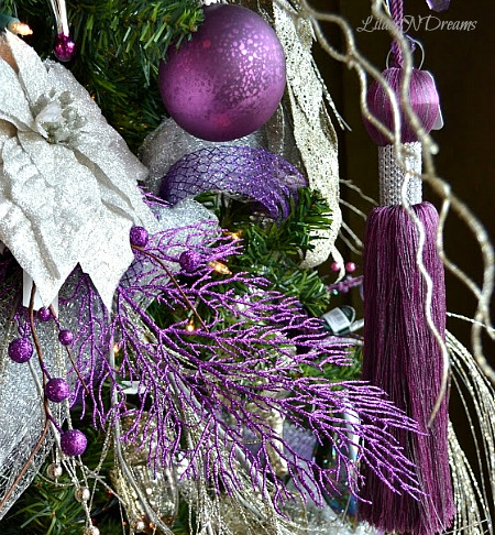 All the whos down in whoville purple and silver christmas - Is purple a christmas color ...