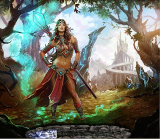 Loading screen from Myth The Guardians