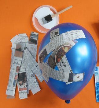 Cómo Hacer Una Piñata De Globo Cositasconmesh