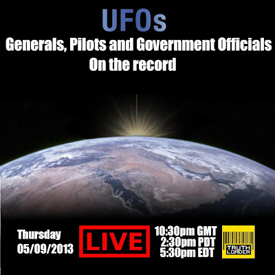 UFOs - Generals, Pilots, and Government Officials Go on the Record – LIVE!