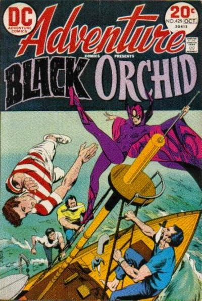 Adventure Comics #429, Black Orchid