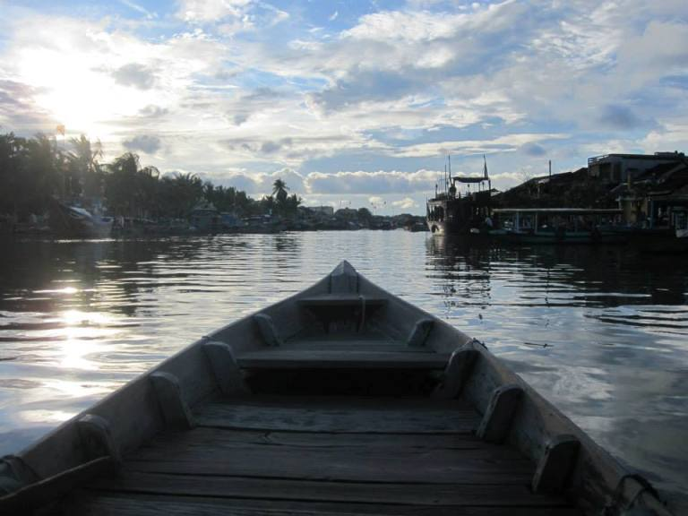 backpacking in Hoi An