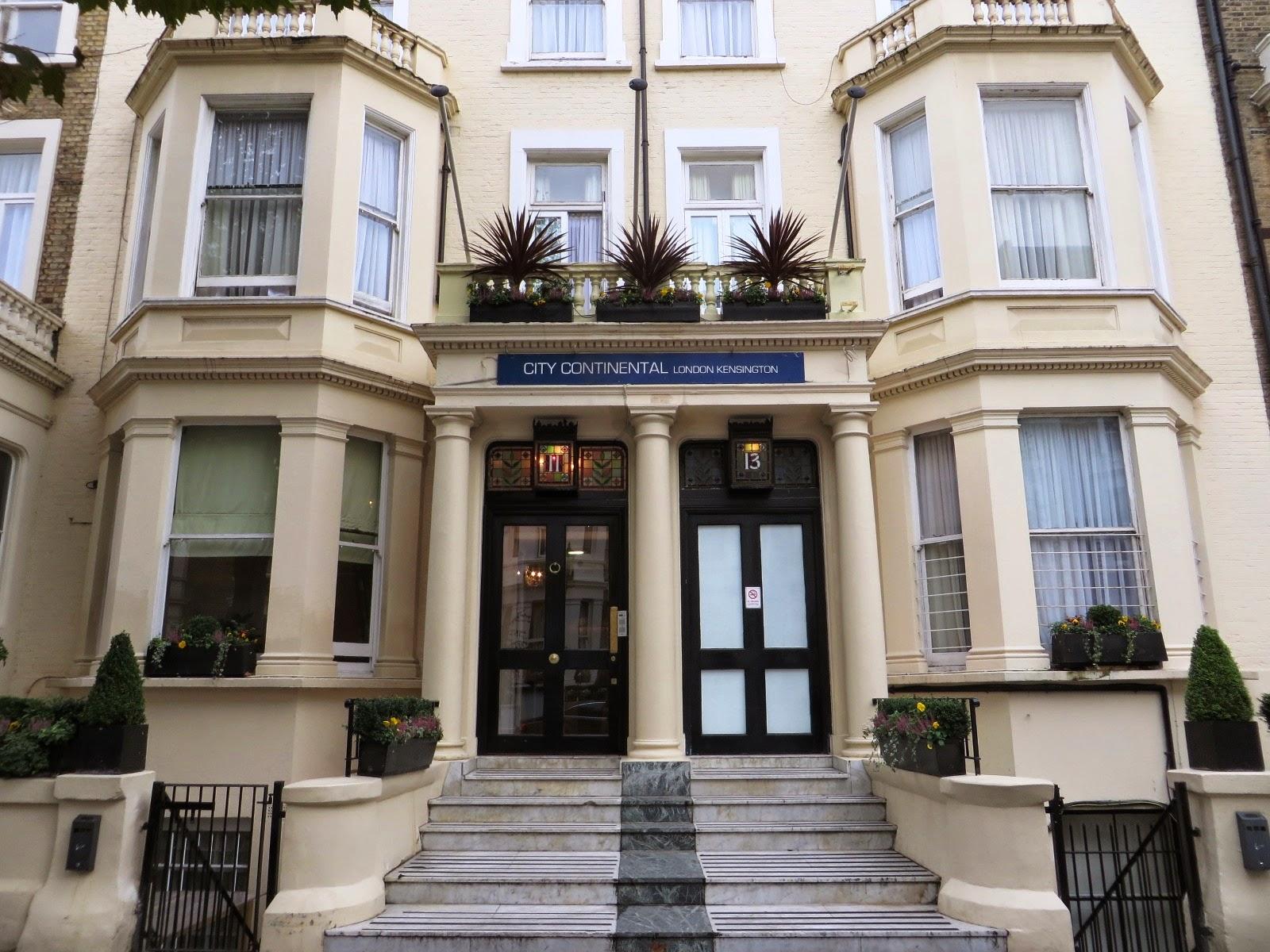 Urbina vinos blog city continental kensington london hotel for The kensington house