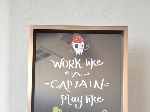 Work Like a Captain Play Like a Pirate - DIY Printable