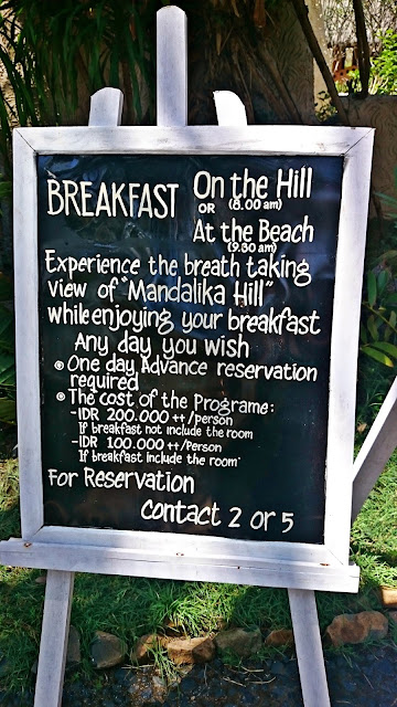 Novotel Lombok - Breakfast on the hill | www.meheartseoul.blogspot.com