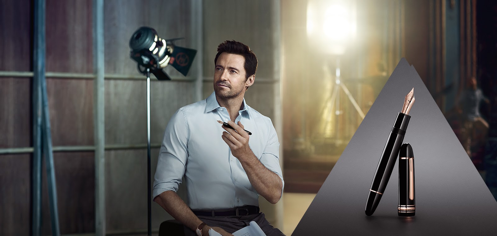 Hugh Jackman Stars in New Montblanc International Campaign