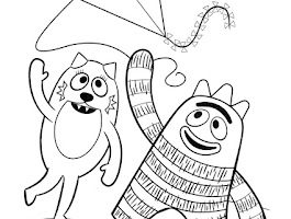 Kids Yoga Animal Coloring Pages