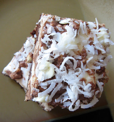 new sept+046a Marshmallow Crispy Brownie Bars