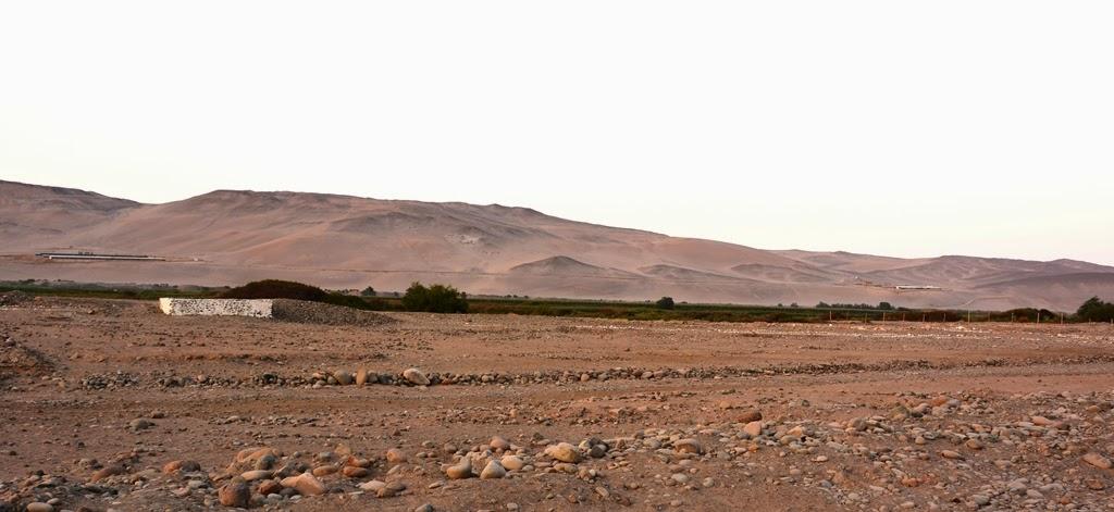 Geoglyphs Arica Mountains desert