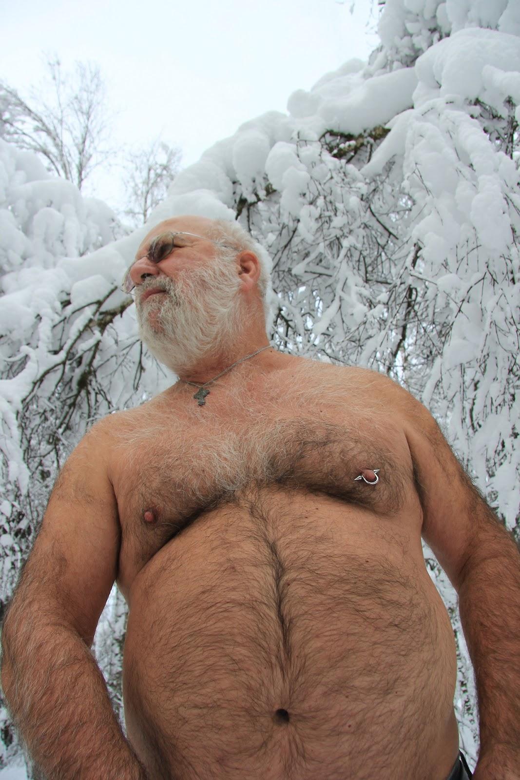 Naked Fat Hairy Gay Man