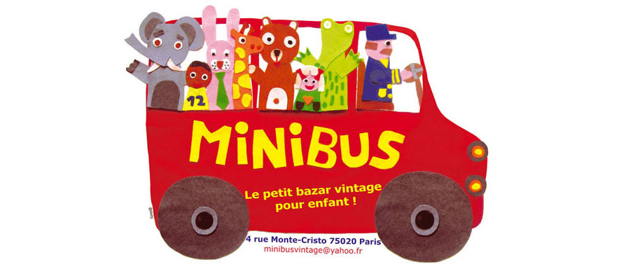 Minibus petit bazar vintage