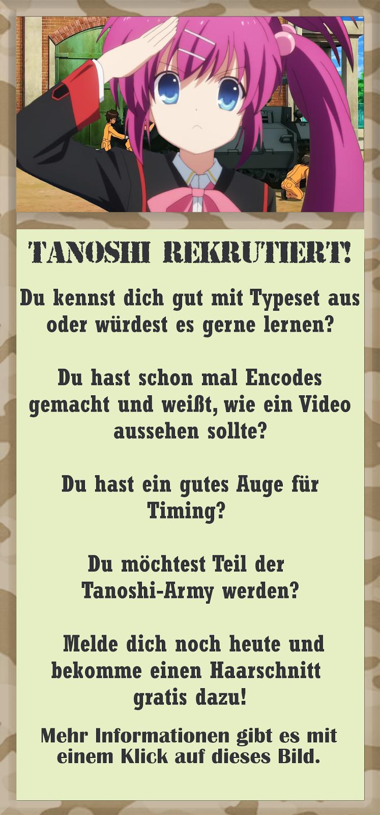Tanoshi rekrutiert!