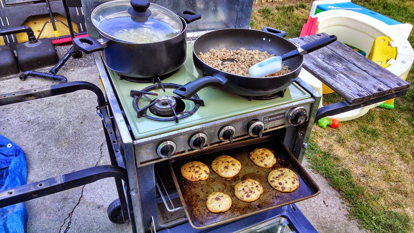 Outdoor Canning Kitchen Shadle Park Provident Living Repurposing With A Vengeance The Stove