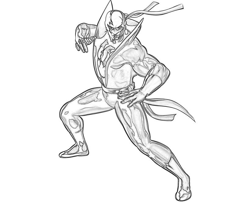 marvel-vs-capcom-iron-fist-coloring-pages