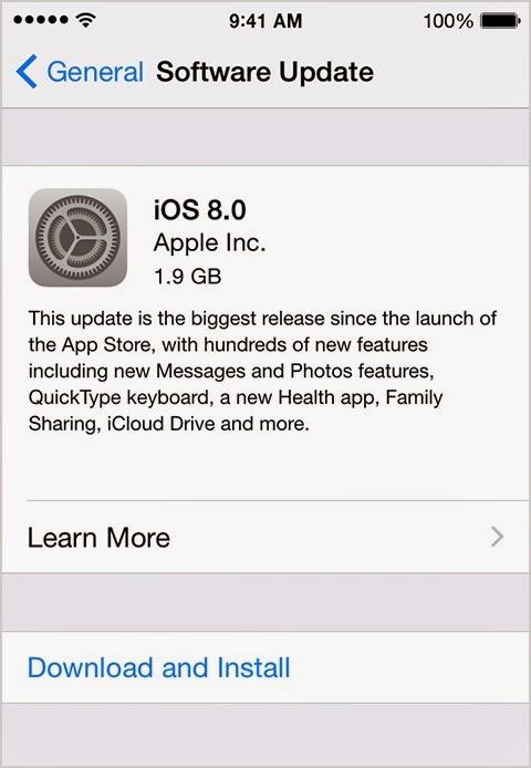 ios 8.0.2 update