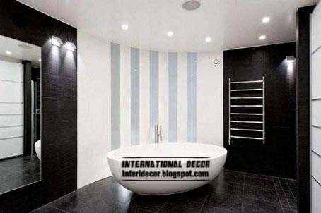 black and white tiles for bathroom, black bathroom tiles